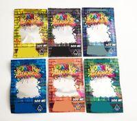 Dank Gummies 가방 500mg Zip Lock evibles 소매 포장 웜 곰 캔디 거미 마이유 가방