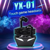 Low Latency game earbuds yx01 TWS Gaming Headphone Wireless blue tooth 5.0 Sport Earphone Noise Reduction Headset