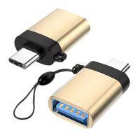 Yeni Sıcak USB 3.0 Tip C Adaptörü-OTG Taşınabilir Hızlı Fiş ve Fare Klavye için Oynat 100 adet
