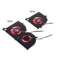 Ventilatore di raffreddamento per laptop per MSI GS63VR GS63 GS73 GS73VR MS-17B1 Stealth Pro CPU BS5005HS-U2F1 GPU BS5005HS-U2L1 Cooler