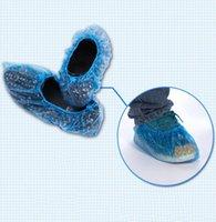 Ayakkabı Parçaları Aksesuarları Yağmur Suya Dayanıklı Kapakları Tek Kullanımlık Mavi 100 ADET Ev için El Şirketi