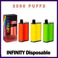 EXTRA ULTRA INFINITY VAPE PEN DAPPETTE ELETTRONICA Sigarette Kit 850mAh Batteria 1500 2500 3500Puffs Pre-riempito Vapori originali di alta qualità all'ingrosso