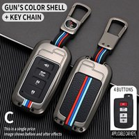 2 3 Кнопка FOB Крышка оболочки Чехол для Camry Corolla Avalon RAV4 Land Cruiser Chr Auris Автомобиль Удаленный ключ Держатель Protector