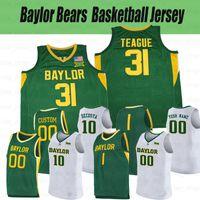 Baylor Bears College Basketball Jerseys 12 Jared Butler 31 Macio Teague 11 Mark Vital 33 Freddie Gillespie