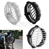 Motorrad Windschutzscheibe Scheinwerferschutzabdeckung Schutzschichtscheinwerfer Lünette Verkleidungsring für R Ninet R9T 14-17