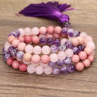 Charm Bracelets Bracelet Jewelry For Womens Girls Ladies Chakrabeads 108 Stone Necklace Handmade Bead Yoga Sweater Chain jlluHj
