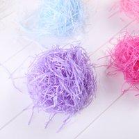 Süslü kağıt hediye wrap şeker renk rendelenmiş hediyeler kutusu dolgu newyear düğün dekorasyon doğum günü partisi ambalaj 394 v2