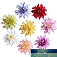 10cm 머리, 20pcs 여러 가지 빛깔의 인공 실크 꽃 가짜 gerbera 머리, 웨딩 장식 용품, 머리띠 화환 꽃, 손목