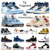 Air Jordan Jumpman 1 Fragment 4s Dark Marina University Blue Zapatillas de baloncesto para hombre 1s Hyper Royal Fearless 4 Wild Things white oreo Hombre deportivas Zapatillas