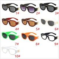 Nuevo 4361 Hombres Hombres Gafas de sol Irregular Pequeño Marco Damas Diseñador Lentes Gafas de Moda con Caja 10 Colores