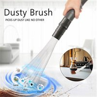 Car Vacuum Cleaner Dust Dirt Remover Home Cleaning Brush For Air Vents Keyboards Tools Accessories