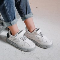 Sneakers 2021 Spring Summer Fashionable Net Breathable White Leisure Sports Running Shoes For Girls Child Casual Boys Brand Kids Shoe