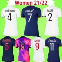 PSG Futbol Forması KADIN 20 21 22 NEYMAR JR 2020 2021 2022 Paris Evden Uzakta mavi beyaz VERRATTI CAVANI MBAPPE bayanlar futbol Gömlek DI MARIA kız üniforma