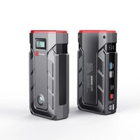 hot 20000mAh Car Jump Starter Power Bank Emergency battery Quick Charger Auto Booster Start Device with Compass whth LED display screen B9