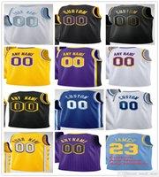 2021 Basketball Lebron 23 James Trikots Anthony 3 Davis Dennis 17 Schroder Alex 4 Caruso Marc 14 Gasol Montrezl 15 Harrell Talen 5 Horton-Tucker 2 Andre Drummond
