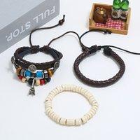 jewelry bracelets Jewelry set Bracelet DIY woven leather men's Leather Gift