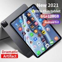 2021新しいAndroid 9.0タブレットPC Octa-Core 10.1inch 6g + 128GB 4GフルNetcom AndroidゲームインターネットクラスAndroidタブレット