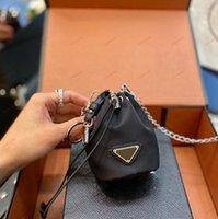 Роскошный треугольник милая черная монета кошелек мужские и женские стили молнии нейлоновый кошелек повседневная сцепление кошельки карты высококачественная цепочка