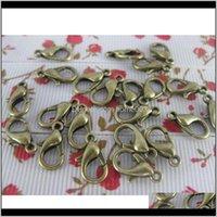 예술, 공예품 선물 홈 Gardenantique 청동 랍스터 걸쇠 스위블 걸쇠 고리 트리거 체인 커넥터 목걸이 Bails Bracelet Jewelry Ma