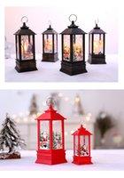 Светодиодный свет игрушка маленький портативный масляный ламп торговый центр Window Bar ресторан интерьера украшения пламени лампы рождественские украшения
