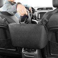 Organizador de la parte posterior del asiento automático, asiento de coche Medio colgando bolsa de bolsa de la bolsa de suministros automotrices para recibir la bolsa para el aislamiento / obstructores para mascotas