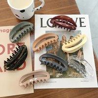 Kore HeadClamps Retro Mizaç Geri Baş Kafa Kaç Kesme Köpekbalığı Chuck Saç Basit Plaka Hairpin Hairaccessorifies Kadın Headjewelry Hediyeler Toptan