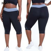 Yoga Outfit Jryyt Plus Size Sports Patchwork Kurze Leggings Frauen Training Fitness Laufender Biker Weibliche Nahtlose Shorts L-4XL