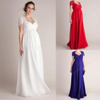 Robe de soins infirmiers Loose Summer Maternité Vêtements manches courtes Robes de charme pour femmes enceintes Grossesse élégante