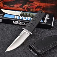High quality hardness cold steel straight knife outdoor camping security defense military Samurai knives pocket backpack EDC tool HW586