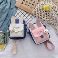 Cross Body Nylon Mini Bags For Women 2021 Purses And Handbags High Quality Girls Female Casual Shoppers Cute Cartoon Mobile Wallet
