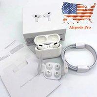 """Airpods de alta calidad """"Pro"""", auriculares inalámbricos, no. Cajas de bisagras metálicas Renombrar auriculares Bluetooth de carga inalámbrica GPS con detección en la oreja"""