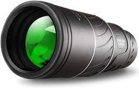 Монокулярный телескоп водонепроницаемый 16x52 двойной фокус оптики ZOOM день Низкое ночное видение Прозрачное FMC Bak4 Prism для наблюдения за птицами