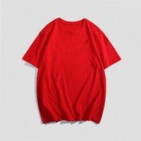 2021 Mens 0ff Summer Women Designers T Shirts Loose Tees Fashion Brand Tops Man S Casual Shirt Luxury Clothing Street Short Sleeve