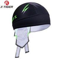 X-tiger 100٪ البوليستر سريعة الجافة باندانا دراجة دراجة عقال تنفس قبعة رئيس وشاح في الهواء الطلق الرياضة الصيف ركوب الدراجات قبعات أقنعة