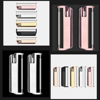 Stainless Steel watchband Strap Adapter For Fitbit Versa 2 lite Smart Watch band metal Connector Accessories