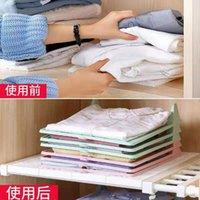 أكياس الغسيل الإبداعية كسول البلاستيك سريع كبير طي الملابس المجلس متعدد الوظائف تخزين الملابس أداة الملابس