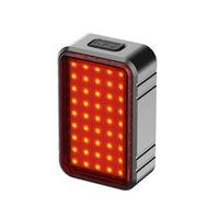 Велосипед задний свет Умный Автоматический тормозной ощущение хвоста LED зарядки IPX6 водонепроницаемый велосипедные задние фонарики велосипедные фонари