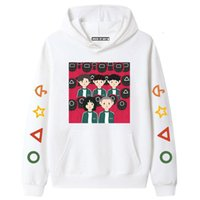 Squid Outfits game Korean drama film television couple hoodie winter leisure pullover men and women family wear sweater