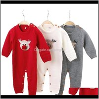 Rompers Jumpsuits&Rompers Clothing Baby, Kids & Maternitychristmas Clothes Autumn Winter Knitted Baby Deer Born Boy Romper Infant Jumpsuit Co