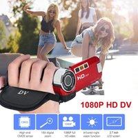 2.7 Inch COMS 16MP Full HD DV Camera 16X Digital Zoom 270 Degree Rotation High Definition Video Camcorder EU US Plug Type Cameras