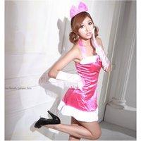 Сексуальные косплеи костюмы розовые красные взрослые женские одежда Японская и корейская рождественская форма