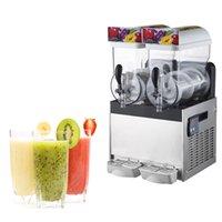110v commercial majuscule machine de boisson glacée mélangeur grande capacité smoothie fabricant neige fond de neige machine à neige faisant la machine