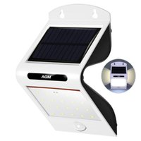 Solar Lamps AGM LED Lamp Outdoor Garden Motion Sensor 20 Power Light Waterproof Panel Luminaria Sunlight Energy Street