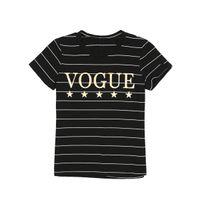 Women Blouses Fashion Women Short Sleeve T-shirts VOGUE Casual Cotton Tops Tee Shirt