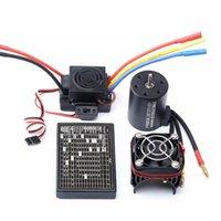 Laptop Cooling Pads 3650 3100kv 3900kv 4300kv Brushle Motor Upgrade Sensorless 60a Esc Combo For 1:8 1:10 Rc Car Boat Part-3100kv
