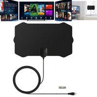 1080P Indoor Digital TV Antenna Signal Receiver Amplifier Radius Surf Antena HDTV Antennas Aerial Mini Accessory