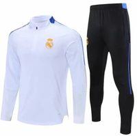 2021 2022 Kinder Real Madrid Fussball Training Anzug Jacke 21/22 Camiseta de Futbol Hazard Benzem MODRIC Jogging Fußball Trainingsanzug