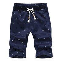 Степень знаменитый бренд Lawrenceblack Brand мужская хлопок вскользь мужчина шорты Homme летний мужской пляжный пот пот х0705