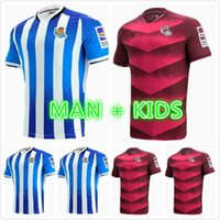 22 22 Real Sociedad Soccer Technys 2021 2022 Camisetas de Fútbol Portu Willian J. Silva Oyarzabal Merino Zubeldia Isak Man Kity Kit Home Youse Футбольные рубашки