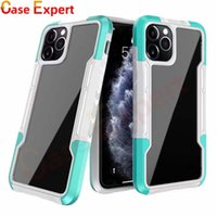 Hybrid Transparent Shockproof Phone Cases Cover For iPhone XS XR 11 12 Pro Max Samsung S21 Ultra A02S A10S A21S A32 A42 A52 A72